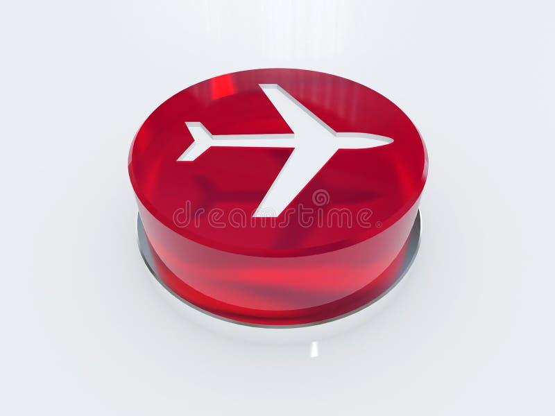航空 库存例证