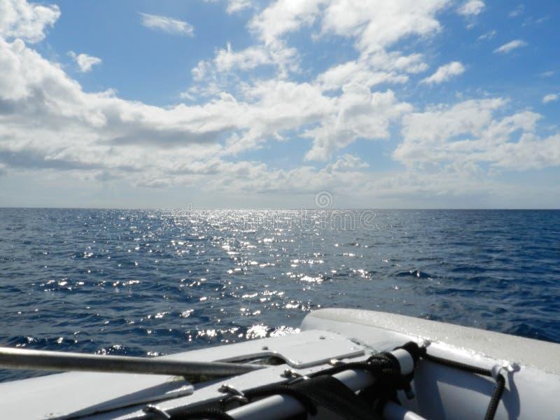 航行加勒比 免版税库存图片
