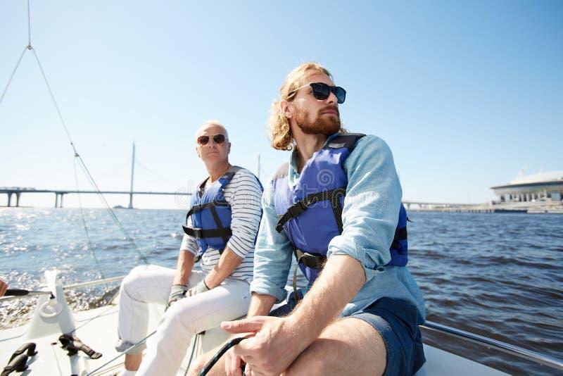 航行游览的梦想的人 免版税库存图片