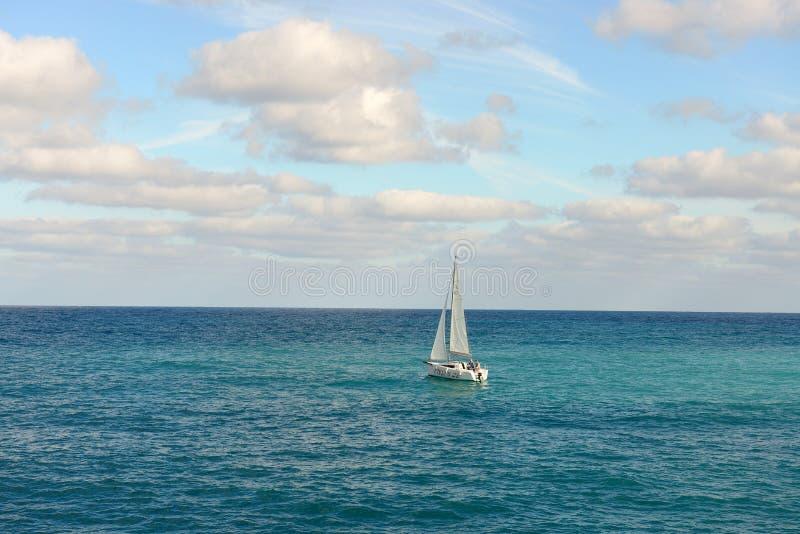 航行风船 库存图片