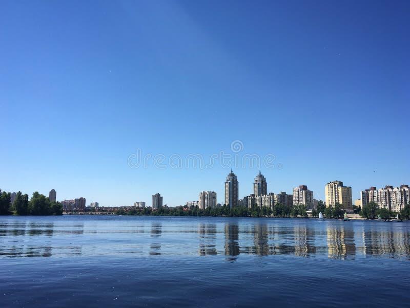 航行,基辅,乌克兰 免版税库存图片