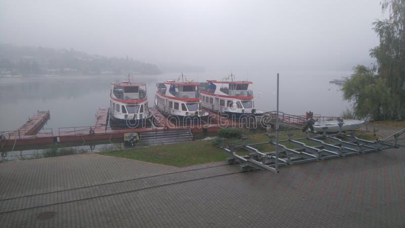 船在布尔诺 库存图片