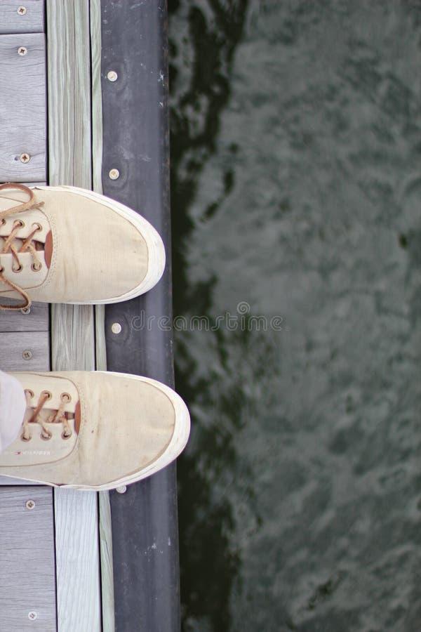 船坞的脚趾 免版税库存图片