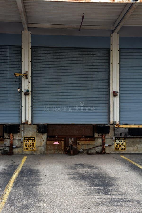 船坞门 免版税库存图片
