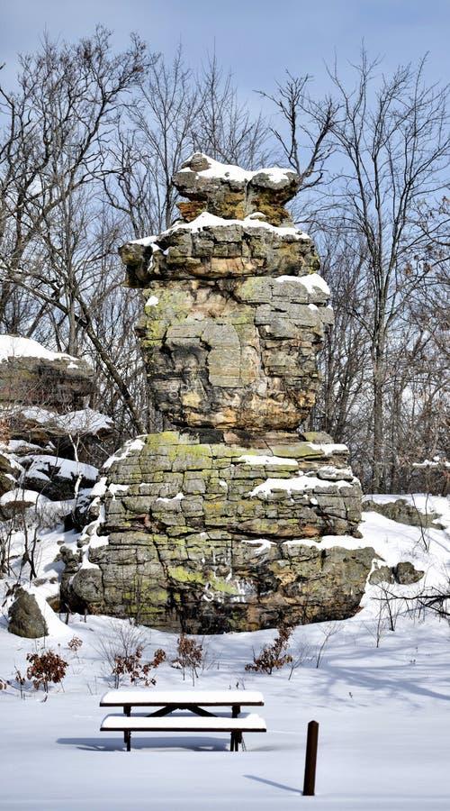船岩石#3 库存图片