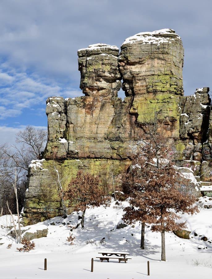 船岩石6 库存图片