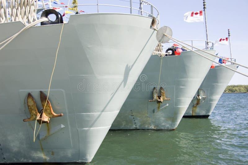 船战争 免版税图库摄影