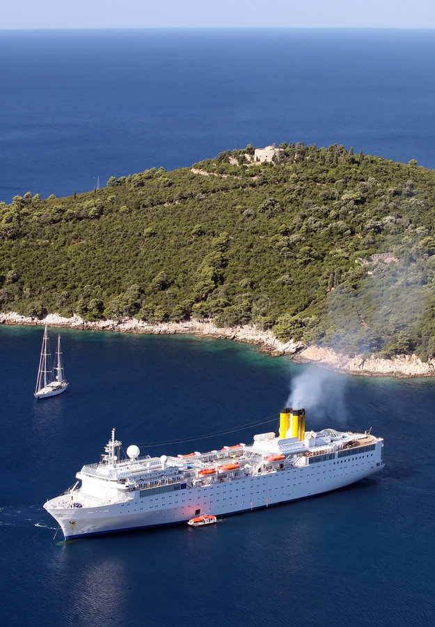 船白色 库存照片