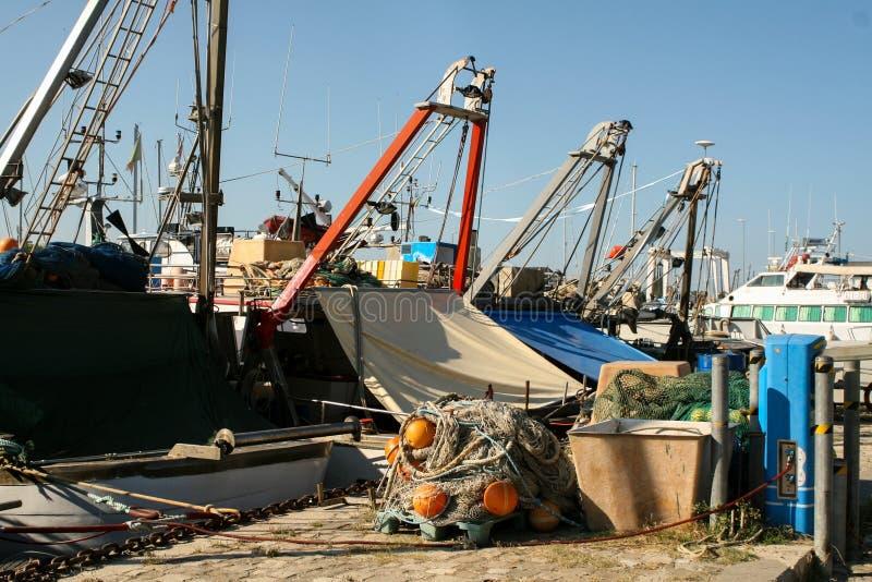 船的博物馆 渔大篷车 库存照片