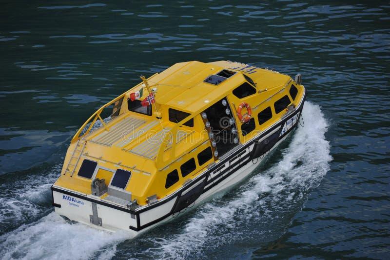 船的小船 免版税库存照片