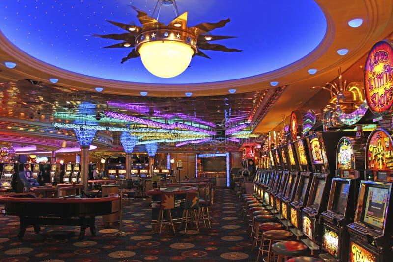船的赌博娱乐场 库存照片