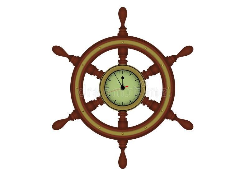 船舵 库存例证