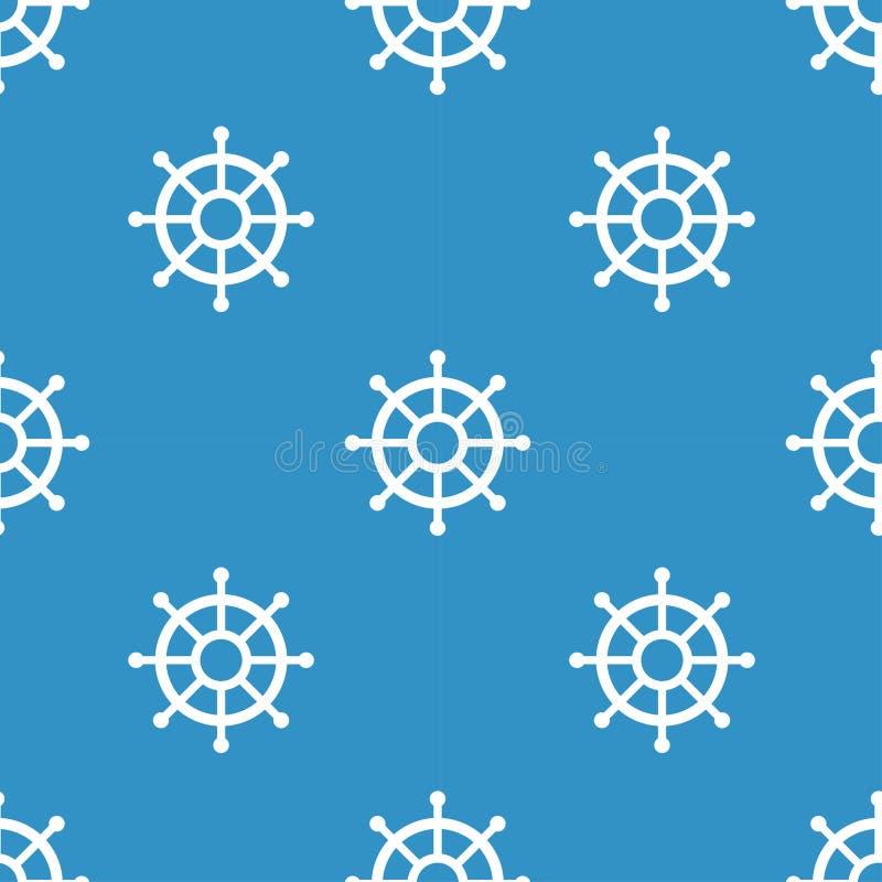 船舶元素补缀品样式 库存例证