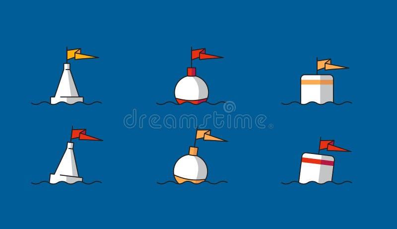 船舶的浮体 皇族释放例证