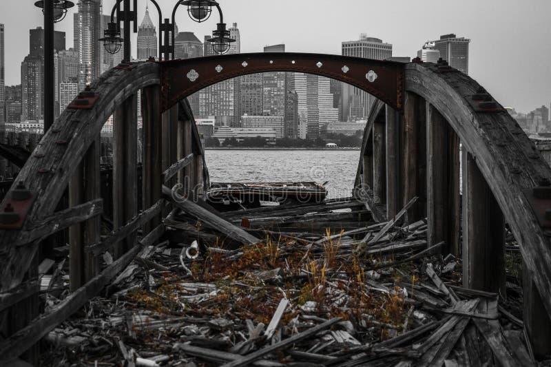 船船坞 免版税库存照片