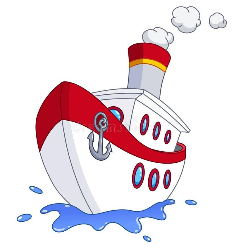 船 向量例证