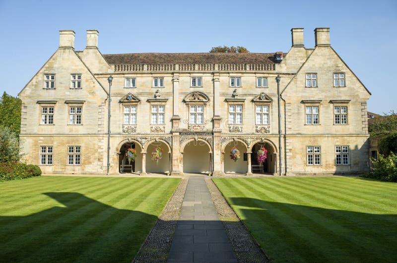 从良的妓女学院的,剑桥,英国Pepys图书馆 免版税库存图片