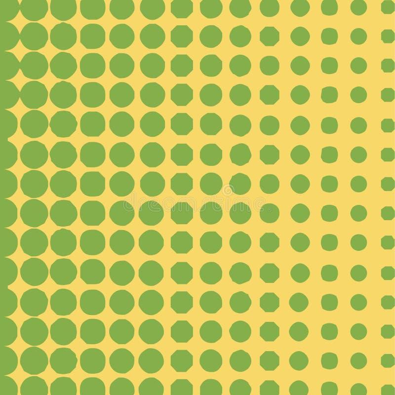 绿色中间影调盘旋背景,半音光点图形图片