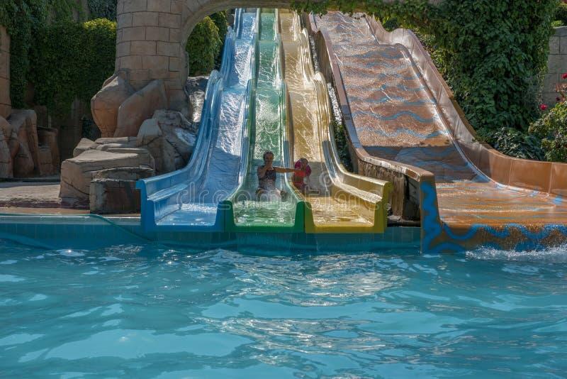 水色公园 库存图片