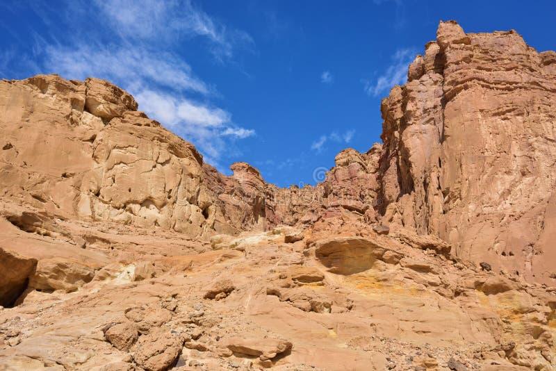 以色列公园timna 库存照片