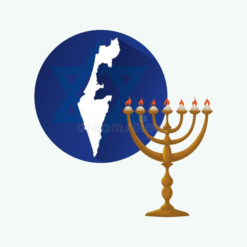 以色列设计 文化设计 按钮查出的现有量例证推进s启动妇女 皇族释放例证