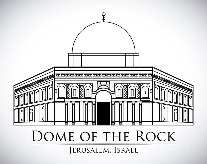 以色列设计 库存例证