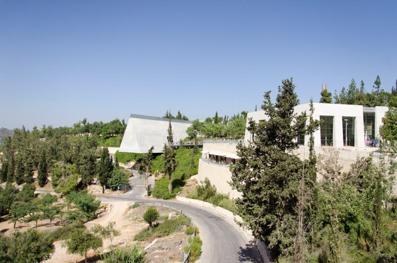 以色列 耶路撒冷 以色列犹太大屠杀纪念馆(名字和记忆) 免版税图库摄影