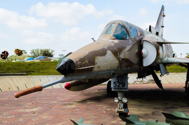 以色列IAI Kfir C-7 图库摄影