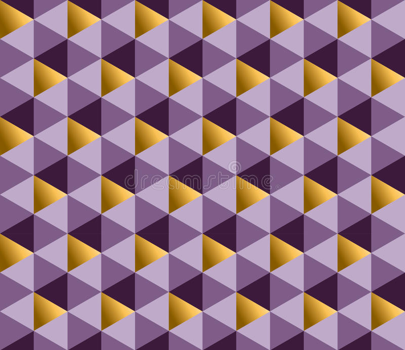 紫色别致的典雅的抽象反复性的主题 皇族释放例证