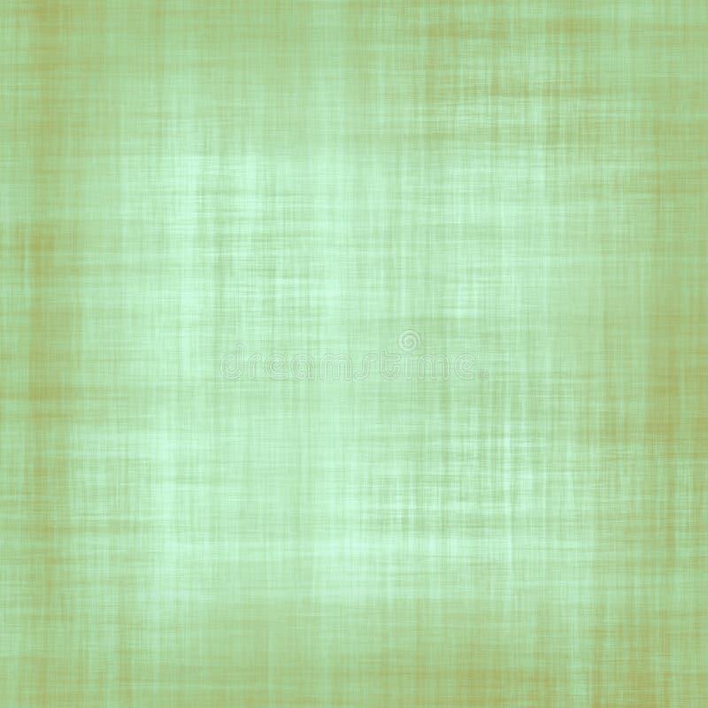 绿色和布朗织品纹理 库存例证