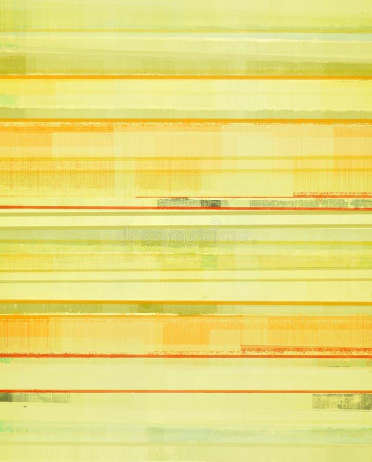 黄色和橙色抽象派背景 库存照片
