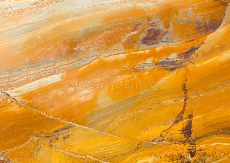黄色和橙色花岗岩 库存照片