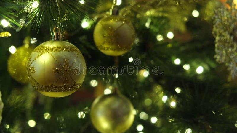 绿色圣诞节 库存图片