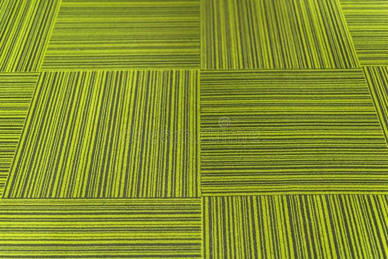 绿色地毯瓦片 图库摄影