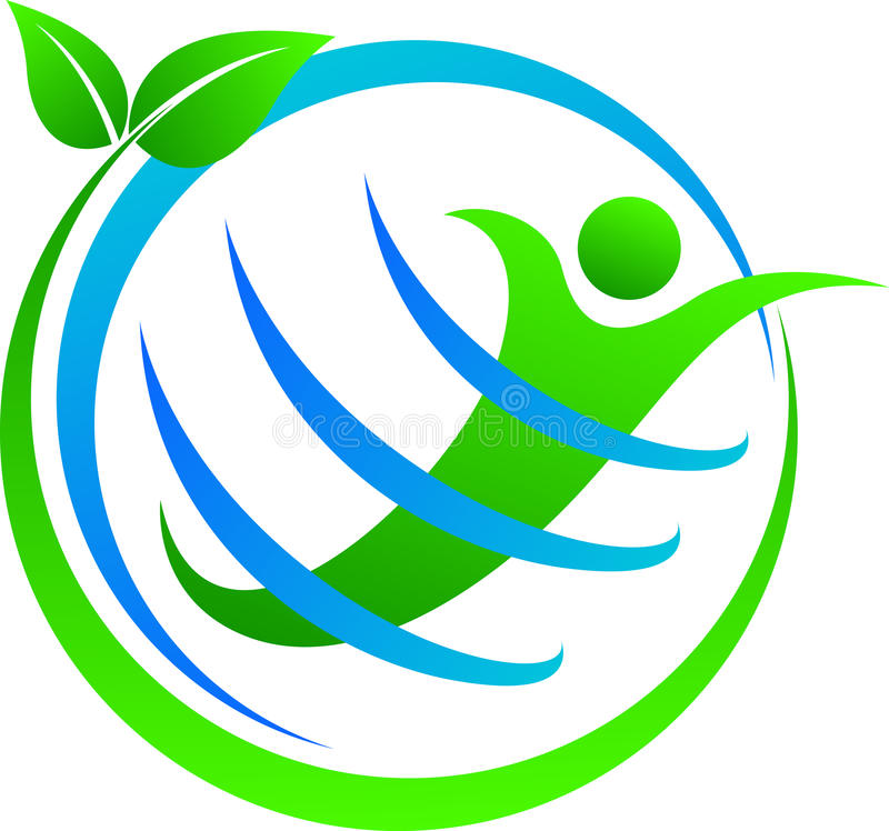 绿色地球 向量例证