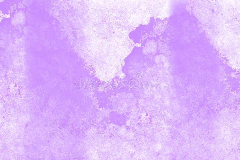 紫色大理石作用纹理 免版税库存照片