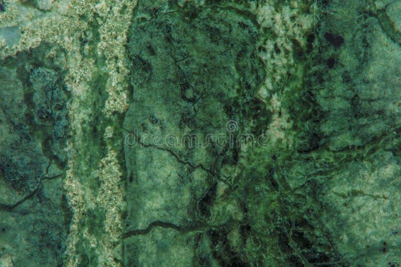 绿色大理石花岗岩石头平板表面 免版税图库摄影