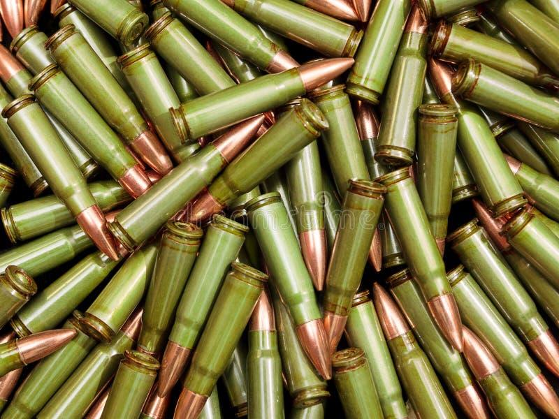 绿色子弹 免版税图库摄影