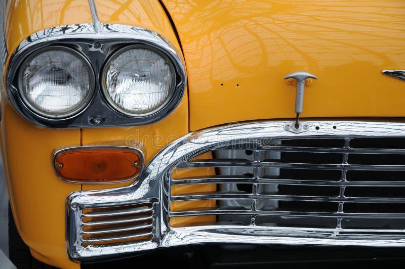 黄色小室出租汽车 免版税图库摄影