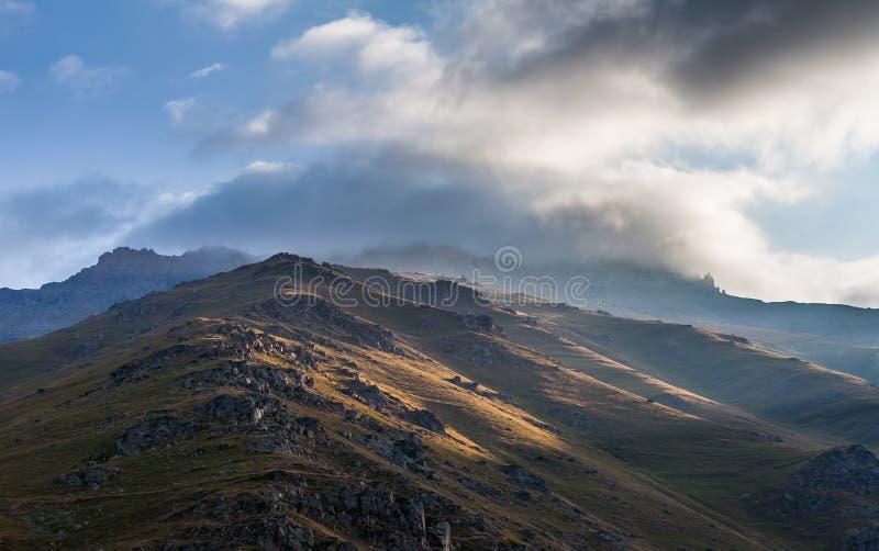 绿色山在土耳其 免版税库存照片