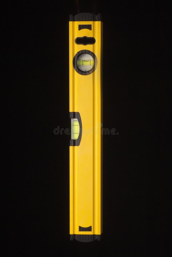 黄色平实工具 免版税库存图片
