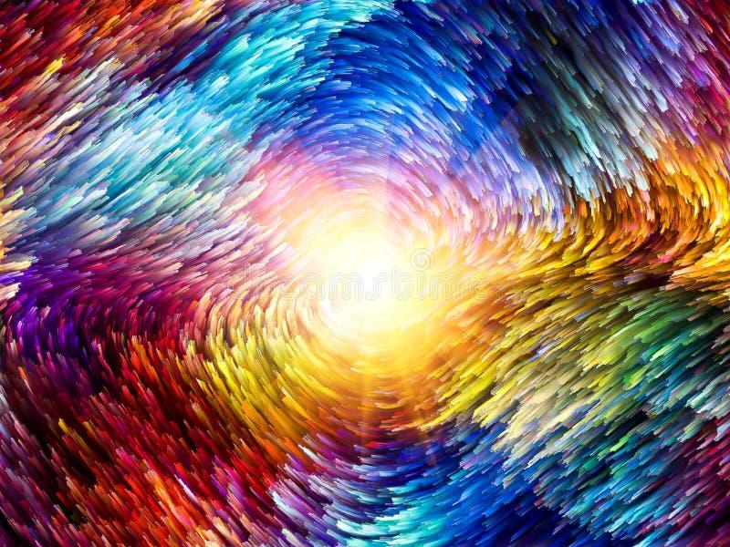 色彩生成 向量例证