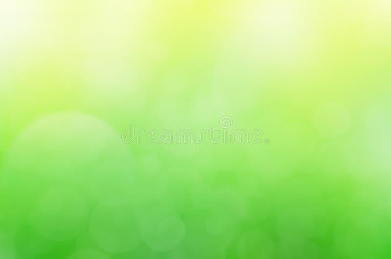 绿色抽象背景,桃红色bokeh背景 库存图片