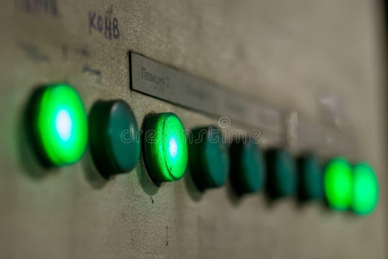 绿色按特写镜头 免版税库存图片