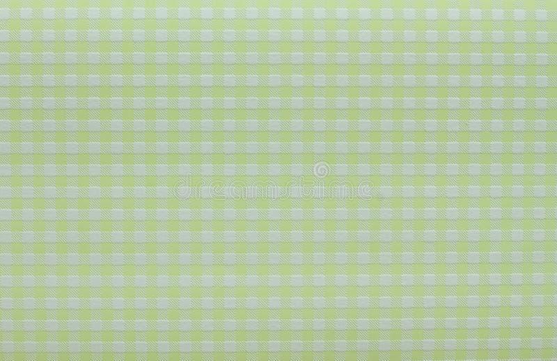 绿色方格的背景 免版税库存照片