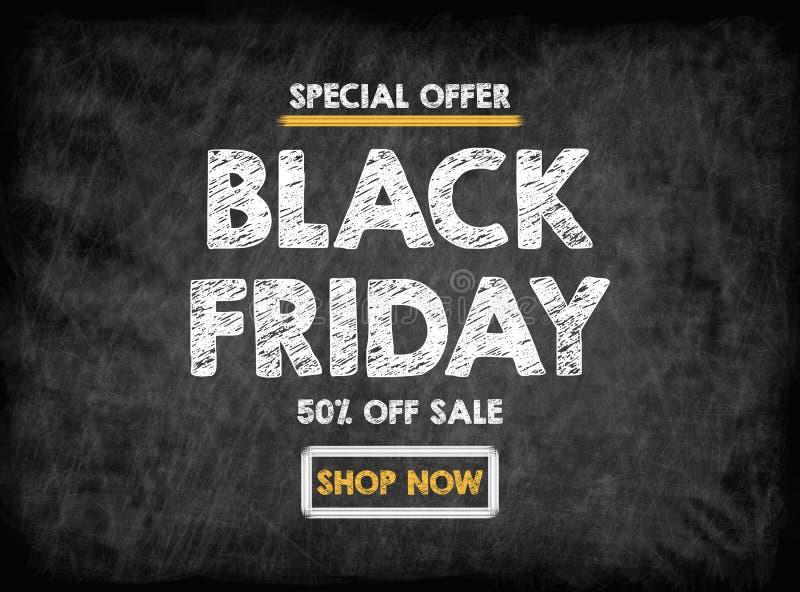 黑色星期五销售额 有纹理的,背景黑人委员会 免版税库存图片