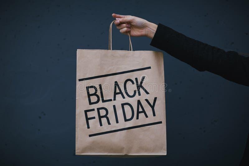 黑色星期五销售额 免版税库存图片