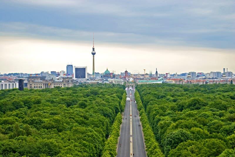 绿色柏林 库存图片