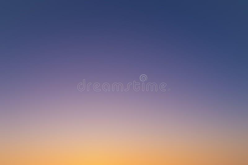 紫色橙色摘要被弄脏的背景 库存图片