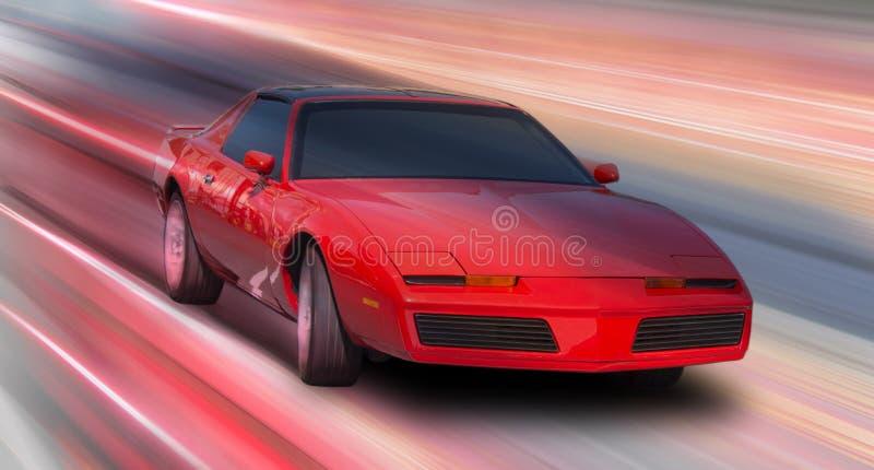 黑色汽车体育运动 免版税库存照片